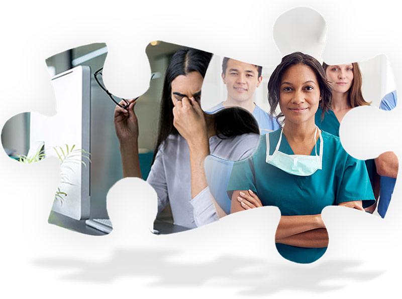 Recruitment Puzzle Graphic